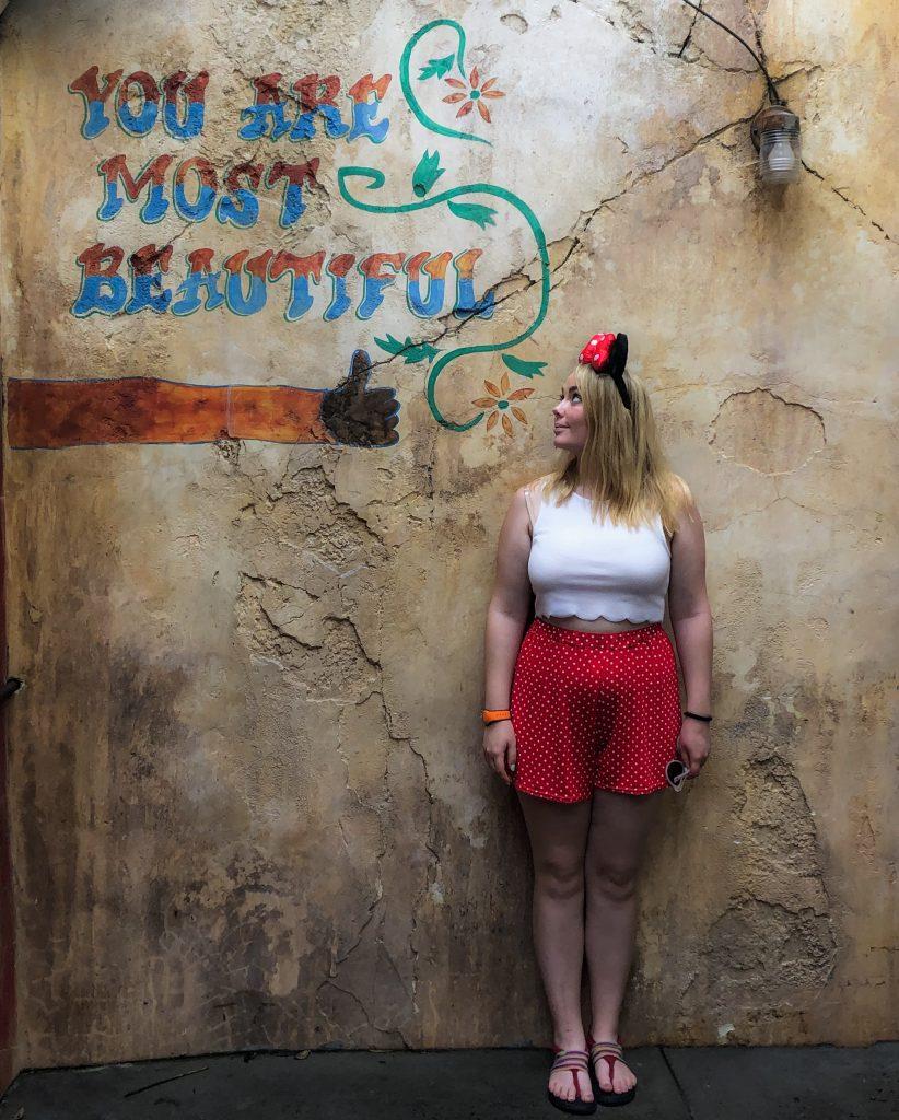 Disney Instagram Walls You are Most Beautiful Wall Animal Kingdom