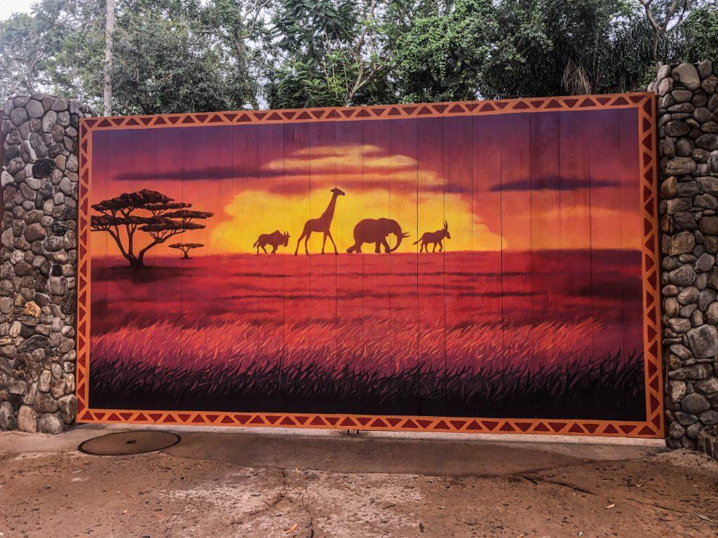 Disney Instagram Walls - The Lion King Wall - Animal Kingdom