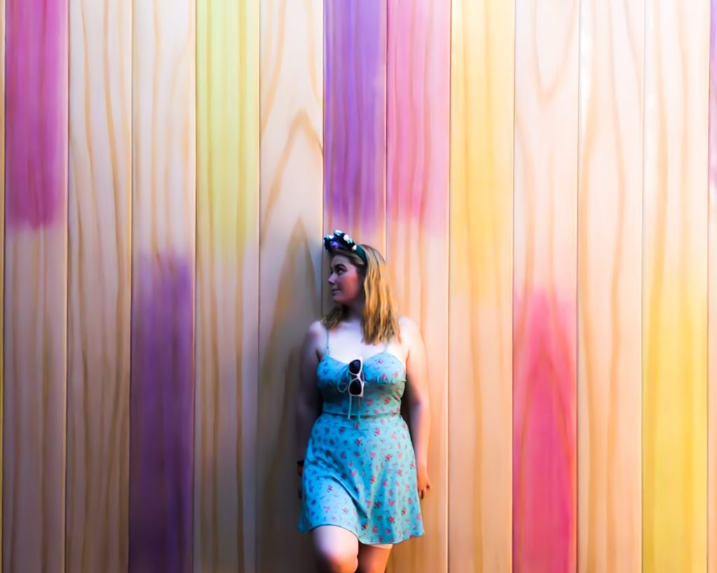Disney Instagram Walls - The Popsicle Wall - Toy Story land - Hollywood Studios