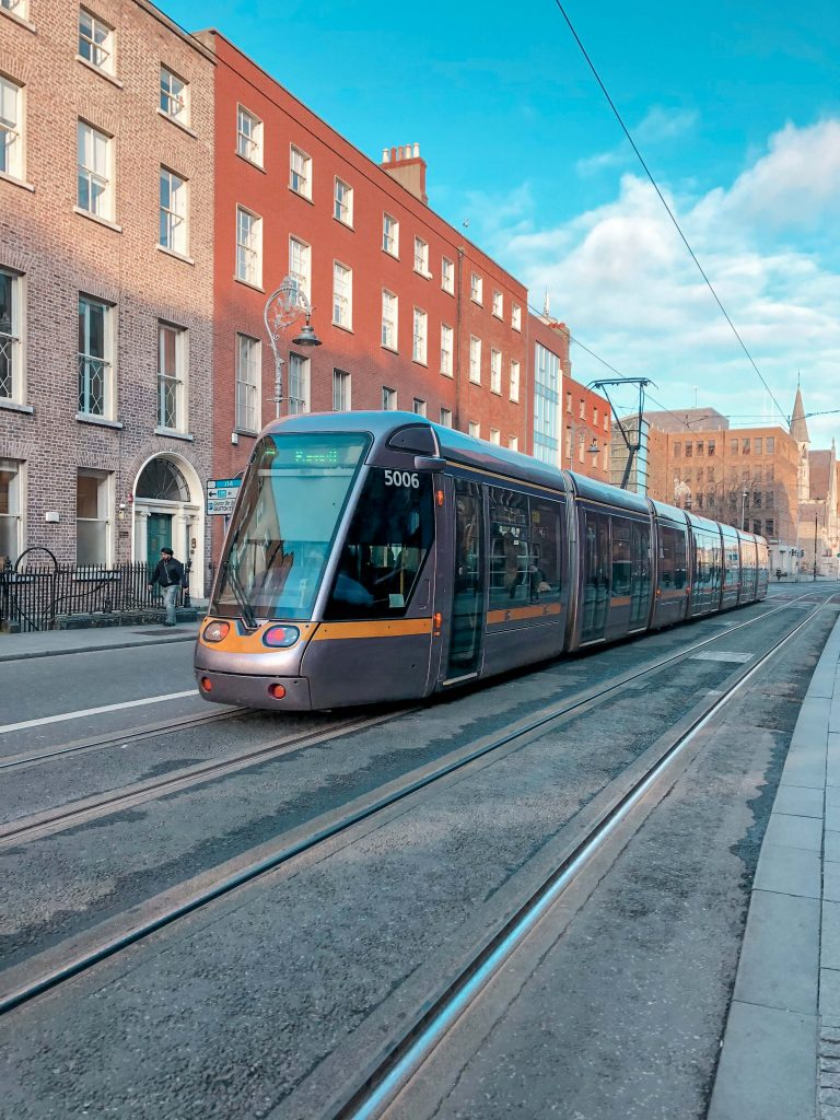 The Luas, Dublin, Ireland
