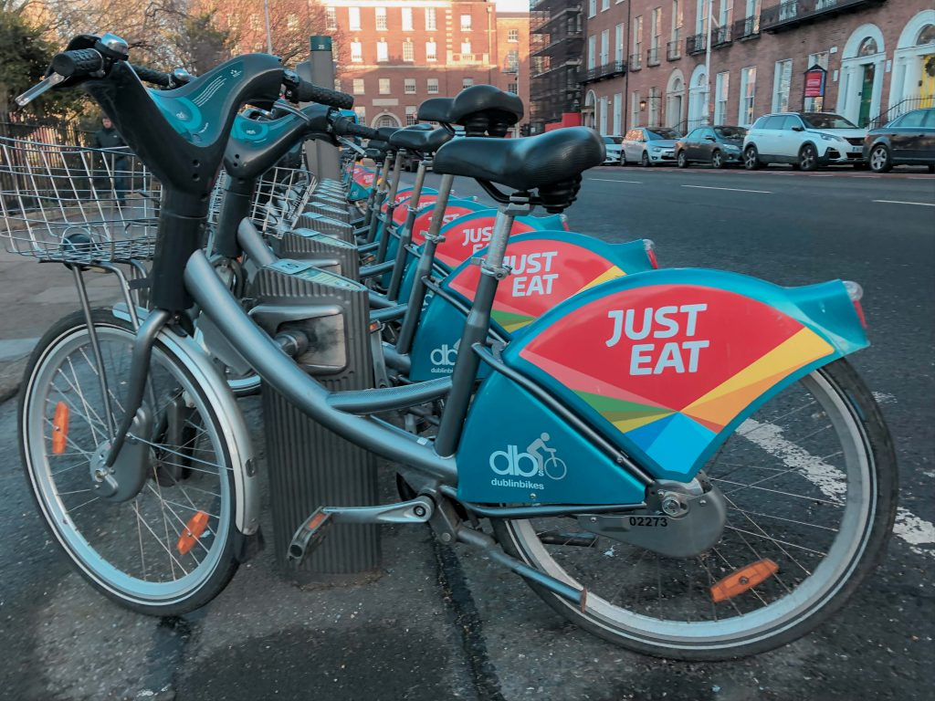 Free Attractions in Dublin: Dublin Bikes