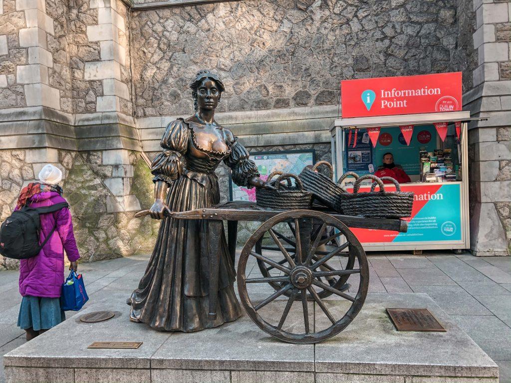 The Molly Malone Statue
