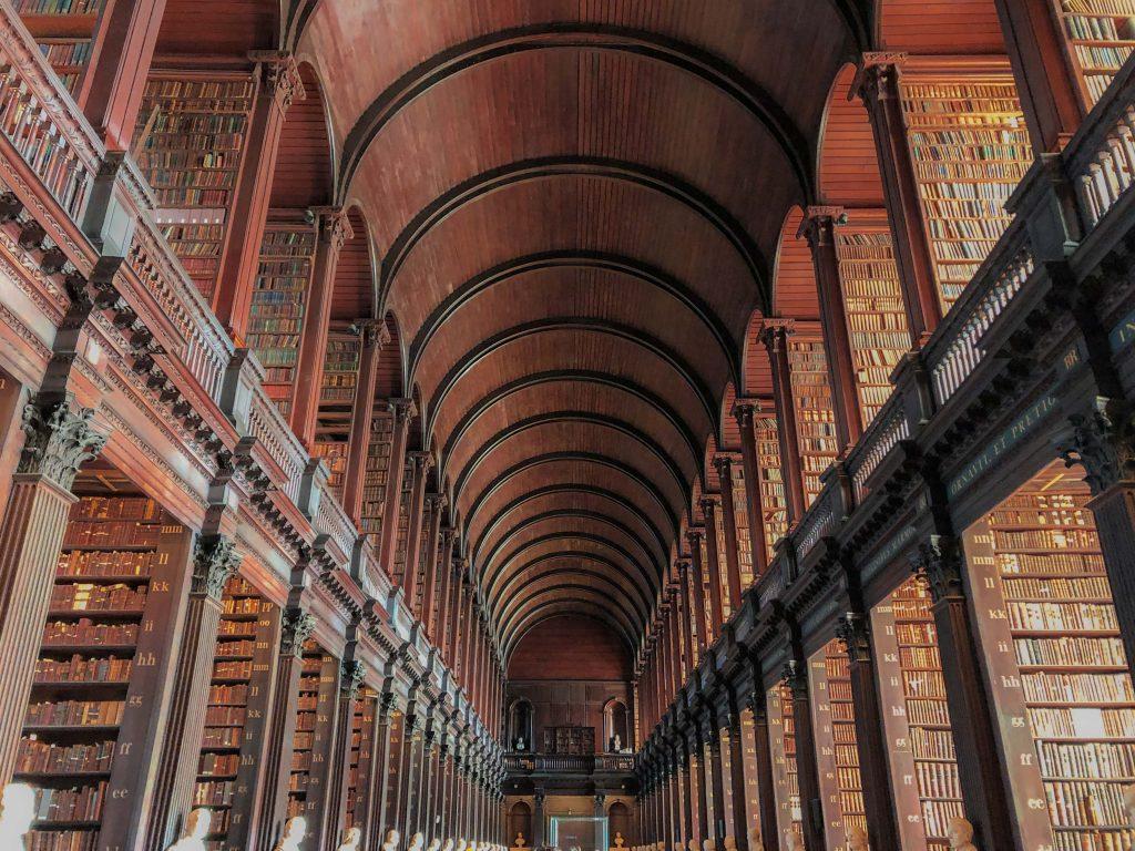 The Long Room, Trinity College, Dublin, Ireland