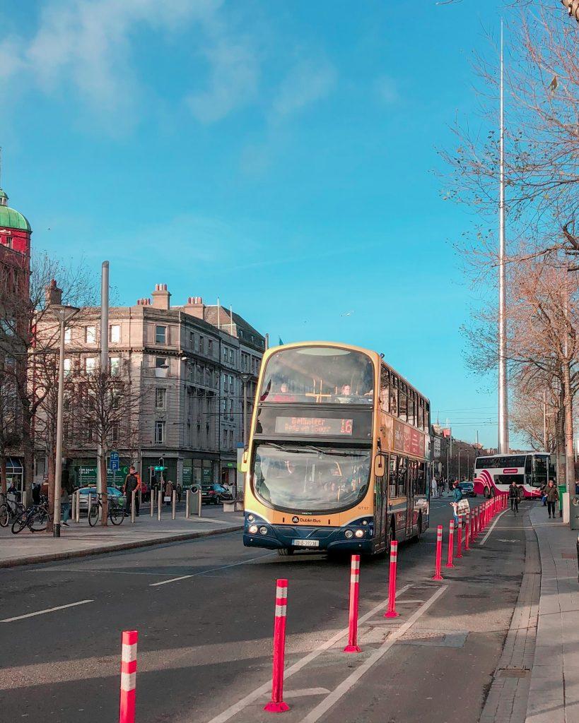 Dublin Bus, On O'Connell Street, Ireland