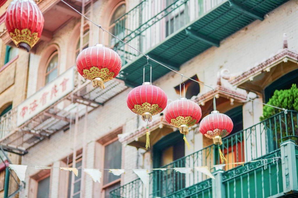 Chinatown of San Francisco, California, USA