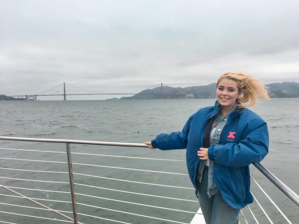 Cruising San Francisco Bay, California, USA