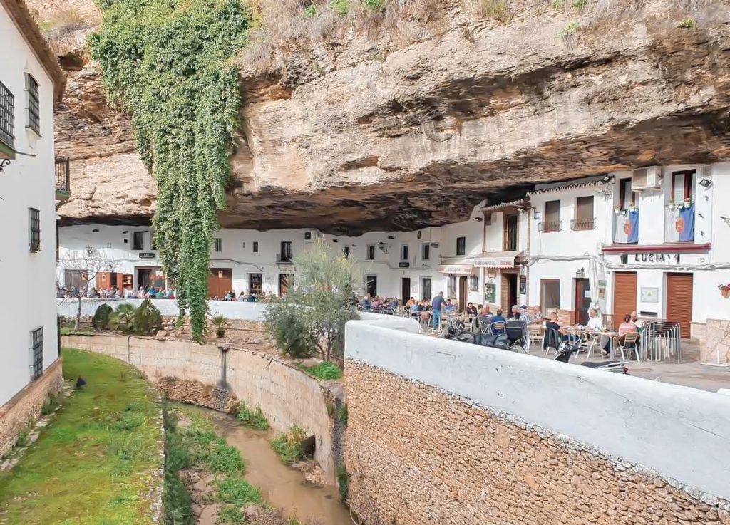 Post Setenil de las Bodegas, Spain