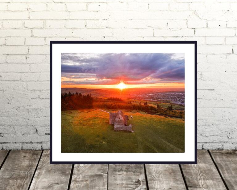 Hellfire Club Sunset Dublin Prints
