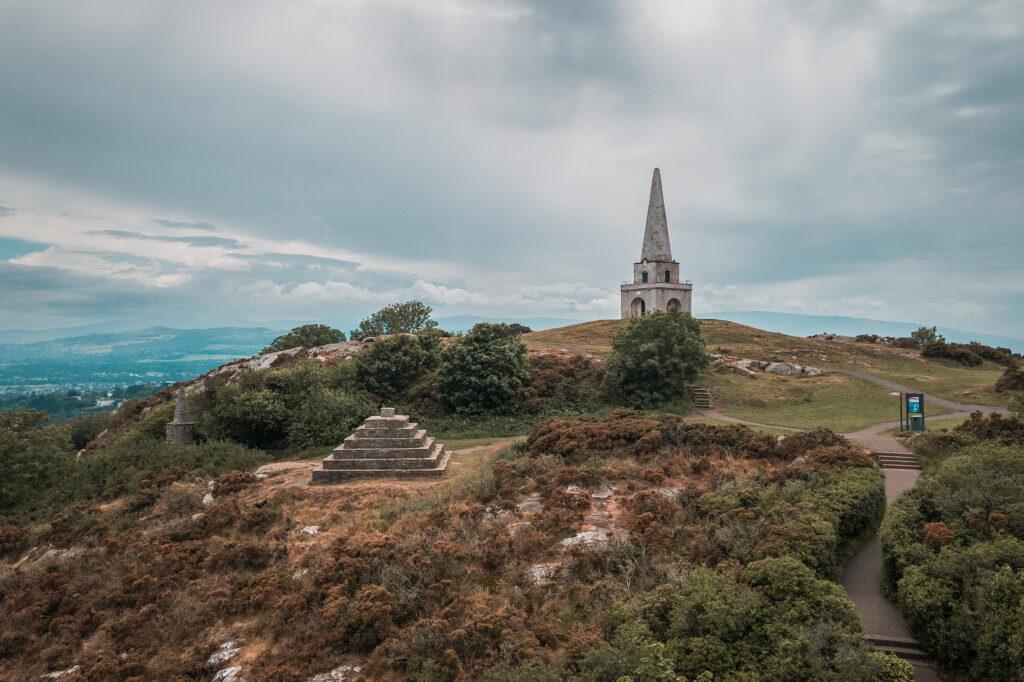 hiking dublin Killiney Hill