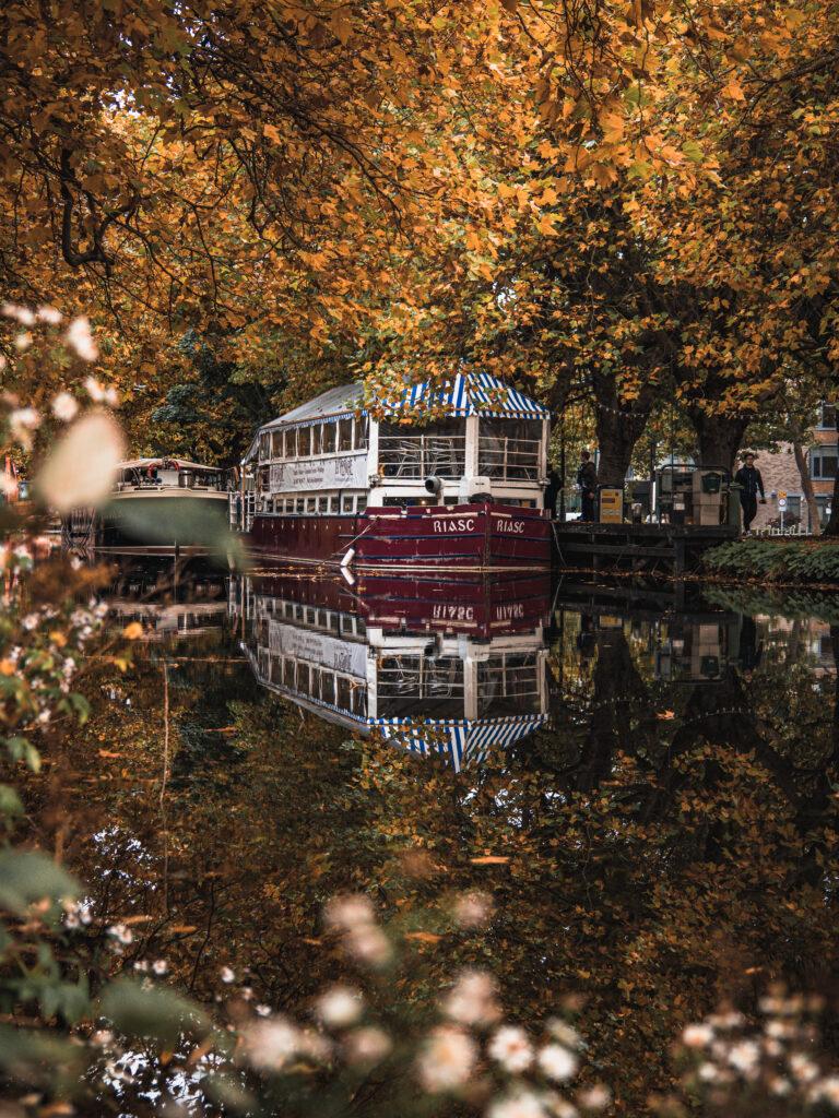 Dublin Prints: Grand Canal Reflection