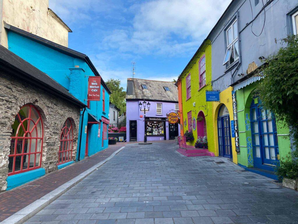 Colourful Irish Town in Kinsale, County Cork